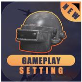 settings for Pubg Mobile - sensitivity & Control icon
