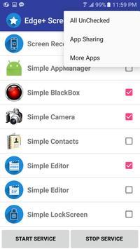 Edge+ Screen - Quick Executor screenshot 4
