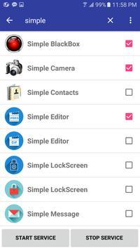 Edge+ Screen - Quick Executor screenshot 1