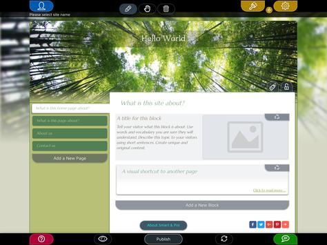 Website Builder for Android screenshot 10