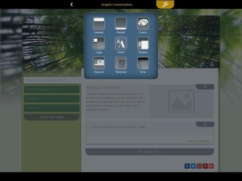 Website Builder for Android screenshot 12