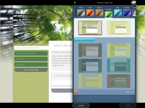 Website Builder for Android 스크린샷 13