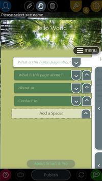 Website Builder for Android 스크린샷 1
