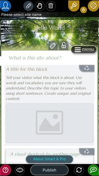 Website Builder for Android 스크린샷 2