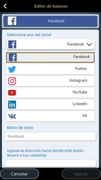 Website Builder para Android captura de pantalla 5