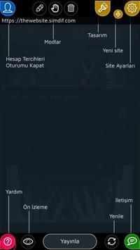 Android için Web Sitesi Oluşturucu Ekran Görüntüsü 7