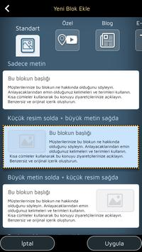 Android için Web Sitesi Oluşturucu Ekran Görüntüsü 6