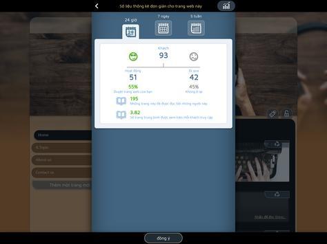 Trình Xây dựng trang Web dành cho Android ảnh chụp màn hình 12