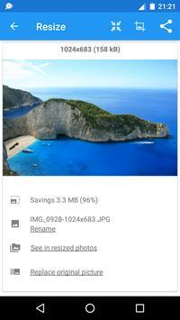 Redimensionador de Imagens - Photo Resizer imagem de tela 3
