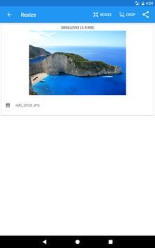 Redimensionador de Imagens - Photo Resizer imagem de tela 10