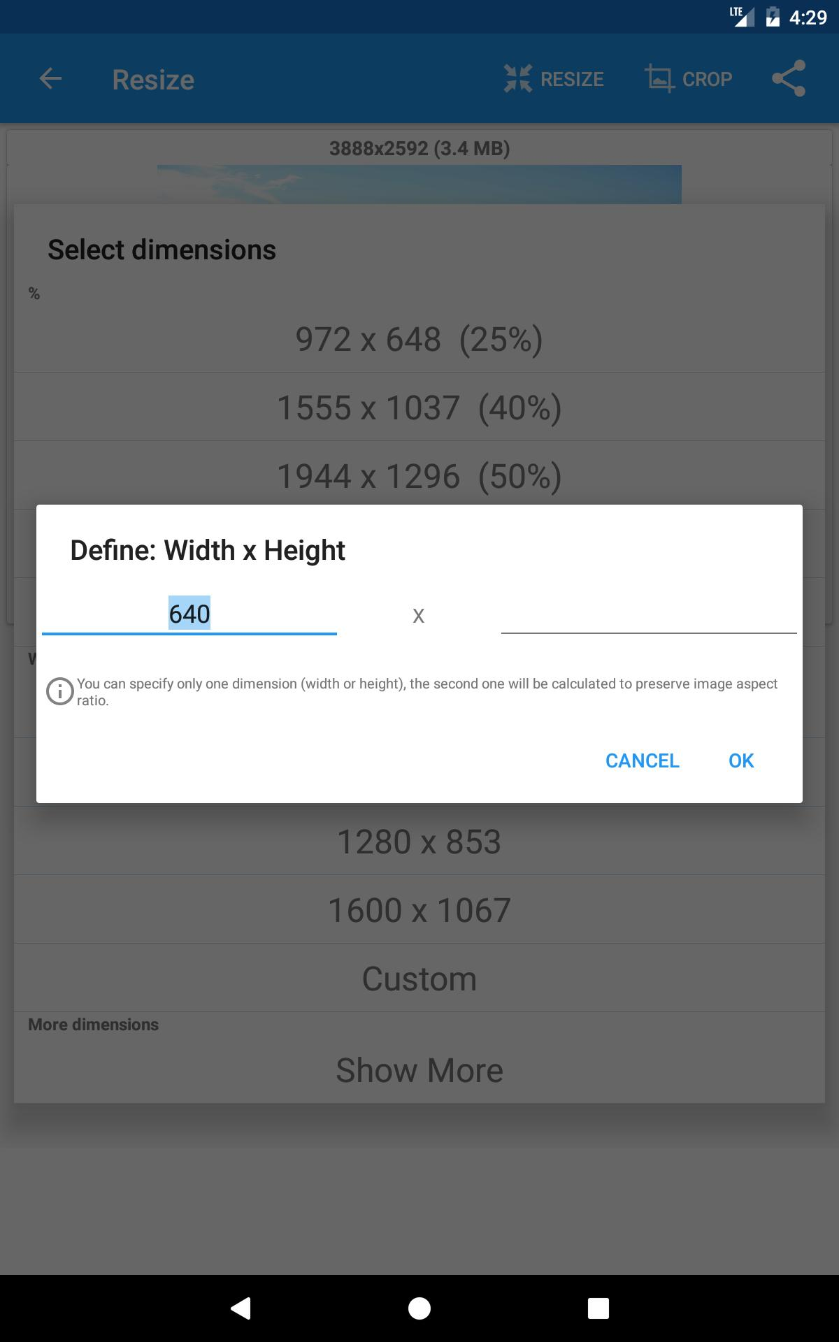 Photo & Picture Resizer for Android - APK Download