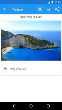 Redimensionador de Imagens - Photo Resizer imagem de tela 1