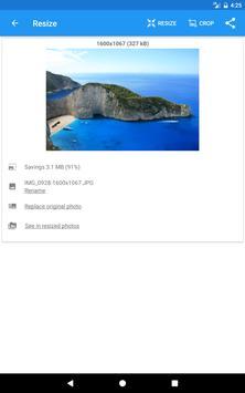 Redimensionador de Imagens - Photo Resizer imagem de tela 20