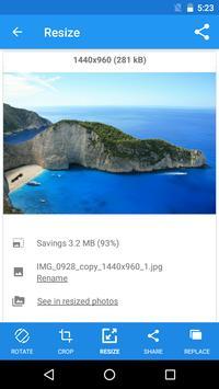 Photo & Picture Resizer screenshot 4