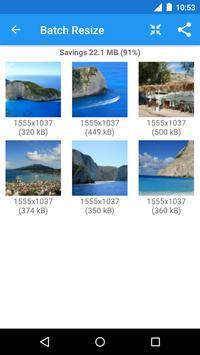 Redimensionador de Imagens - Photo Resizer imagem de tela 5