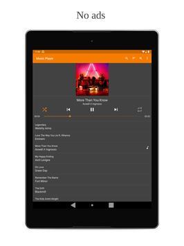 Simple Music Player: MP3 player, no ads, widget screenshot 4