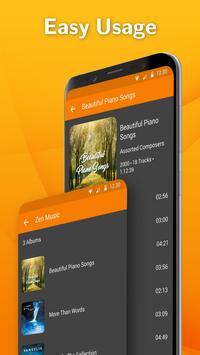Simple Music Player: MP3 player, no ads, widget screenshot 2