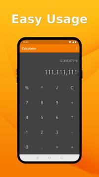 Simple Calculator - Quick Easy Calculator No Ads poster