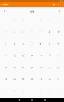 Simple Calendar screenshot 7