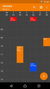 Simple Calendar screenshot 3