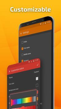 सरल संपर्क प्रो - स्मार्ट संपर्क प्रबंधन स्क्रीनशॉट 2