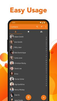 Simple Contacts - Address book, groups, numbers poster