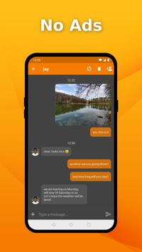 Simple SMS Messenger - Send SMS messages quickly poster