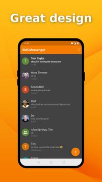 Simple SMS Messenger - Send SMS messages quickly screenshot 1