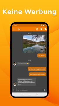 Schlichter SMS Messenger: SMS einfach verwalten Plakat