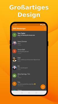 Schlichter SMS Messenger: SMS einfach verwalten Screenshot 1