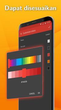 Pembawa SMS Simpel: Aplikasi Pesan Teks syot layar 3
