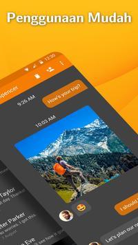 Pembawa SMS Simpel: Aplikasi Pesan Teks syot layar 1