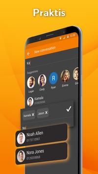 Pembawa SMS Simpel: Aplikasi Pesan Teks syot layar 2