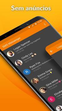 Simple SMS Messenger: aplicativo mensagens texto Cartaz