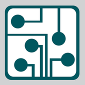 simple amplifier circuit diagram icon