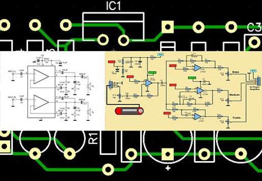 simple amplifier circuit diagram screenshot 8