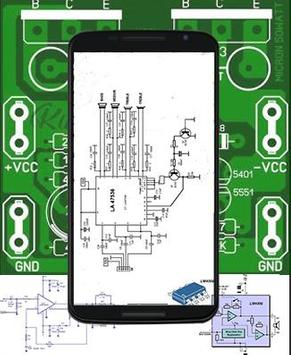 simple amplifier circuit diagram poster