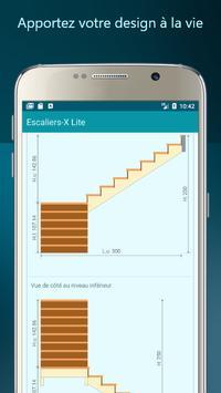 Escaliers-X Lite capture d'écran 2