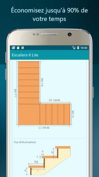Escaliers-X Lite capture d'écran 3