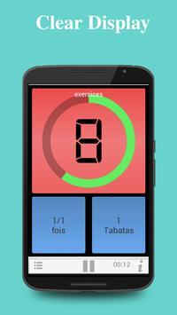 Tabata Timer capture d'écran 2