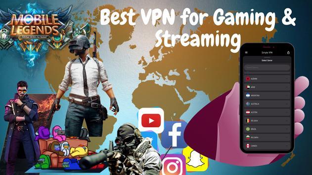 Simple VPN Lite تصوير الشاشة 10