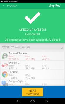 simpli Clean Mobile  - BOOSTER & CLEANER Ekran Görüntüsü 11