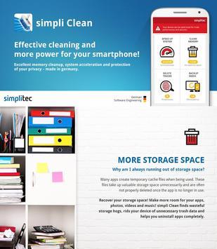 simpli Clean Mobile  - BOOSTER & CLEANER Ekran Görüntüsü 2