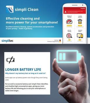 simpli Clean Mobile  - BOOSTER & CLEANER Ekran Görüntüsü 4