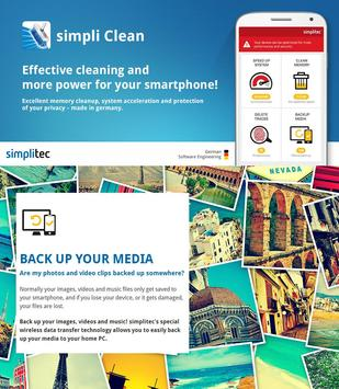 simpli Clean Mobile  - BOOSTER & CLEANER Ekran Görüntüsü 7