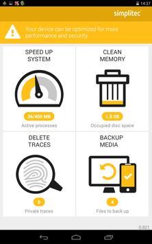 simpli Clean Mobile  - BOOSTER & CLEANER Ekran Görüntüsü 9
