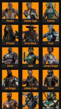 MK11 Fatalities Guide poster