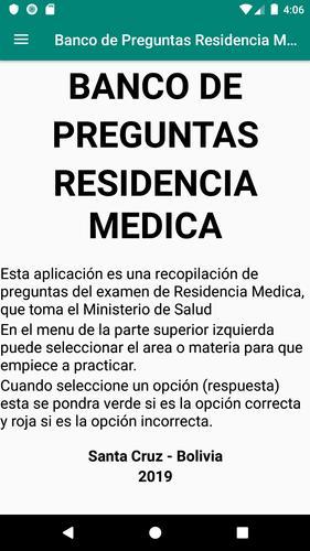 Banco De Preguntas Residencia Medica For Android Apk Download