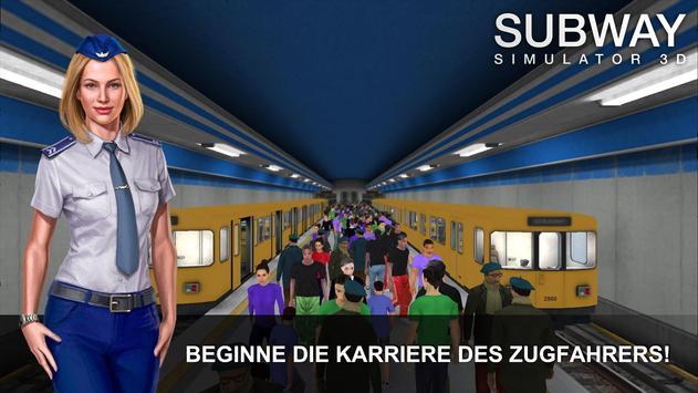 Subway Simulator 3D Plakat