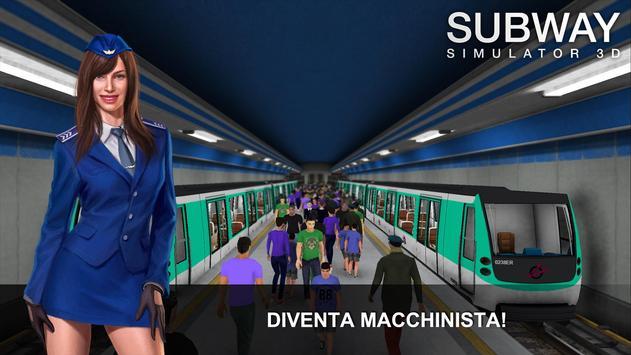 Poster Subway Simulator 3D